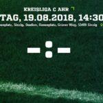 2.Spieltag: SC Sinzig erwartet die Sportfreunde Koisdorf 1968 e.V.
