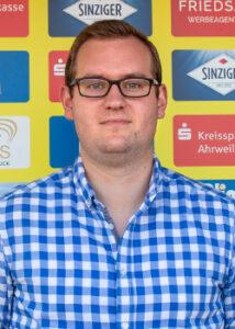 2. Vorsitzender SC Sinzig Fabian Fabritius