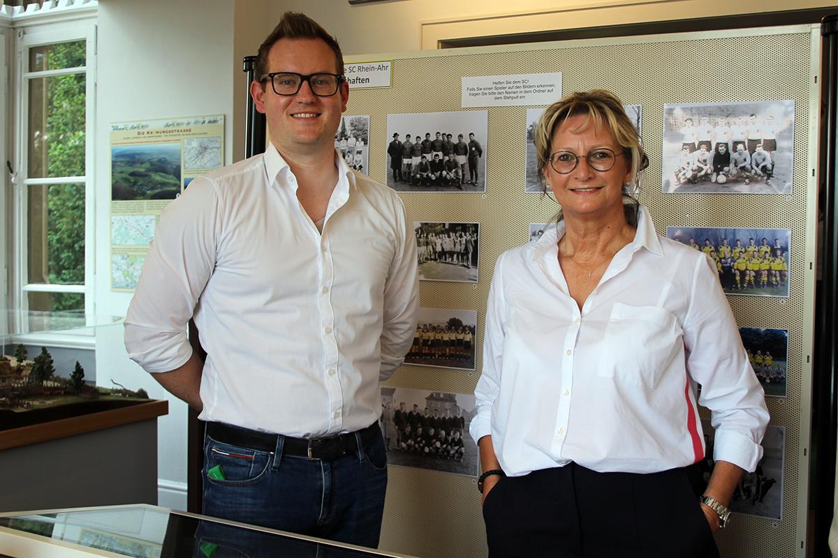 Eröffnung der Ausstellung 111 Jahre SC Sinzig im Sinziger Schloss